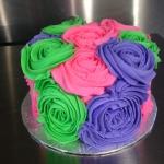Multi-Coloured Smash Cake
