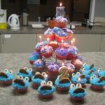Princess & Cookie Monster Birthday