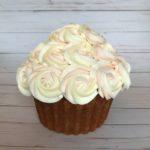 buttercream cake, giant cupcake