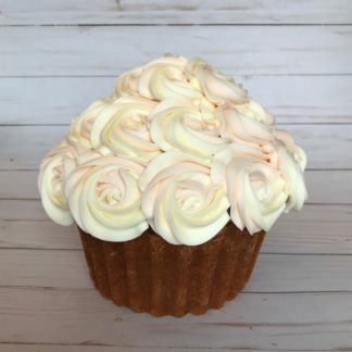 buttercream cake, giant cupcake