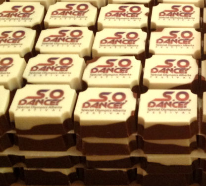 bulk printed chocolates, bulk, corporate, branded dessert