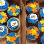 Rio Birthday Cupcakes