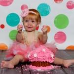 Pink Rose Smash Cupcake