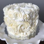 floral cake, buttercream flowers, topper cake, wedding cake