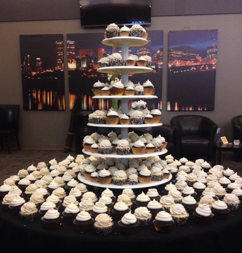 corporate dessert delivery, corporate event, cupcakes, corporate event, dessert edmonton