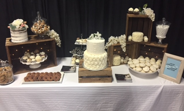 wedding dessert, cupcake tower, cake, dessert table, edmonton wedding dessert