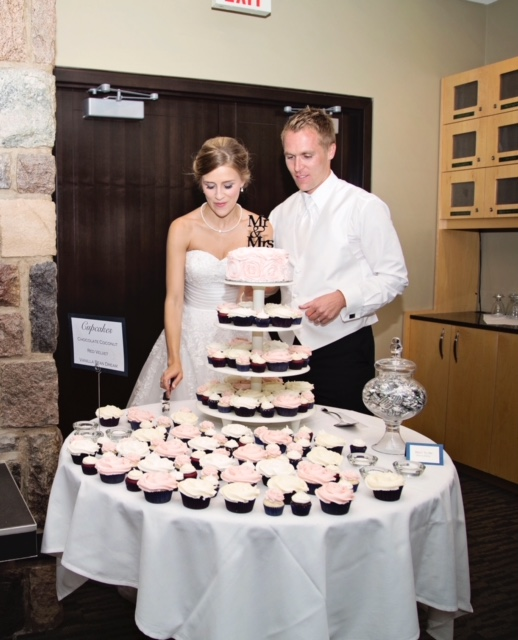 wedding dessert, cupcake tower, cake