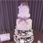 cupcake towers, wedding desserts, cakes