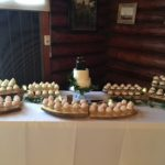 rustic weddding, dessert table, two tier cake