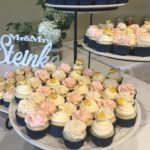 wedding cupcakes, vanilla, strawberry, limoncello, lemom