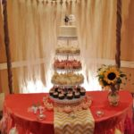 wedding cupcake tower, wedding cake