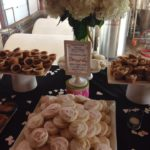 wedding dessert table, lofthouse cookies, peanut butter