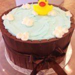 party cake, buttercream cake, kit kat