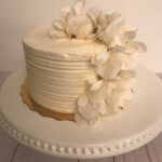 ridge cake, buttercream icing, wedding cake, simple cake