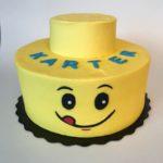custom cake, lego cake, buttercream icing, custom cake