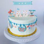 custom cakes, baby shower cake, buttercream icing, custom cake