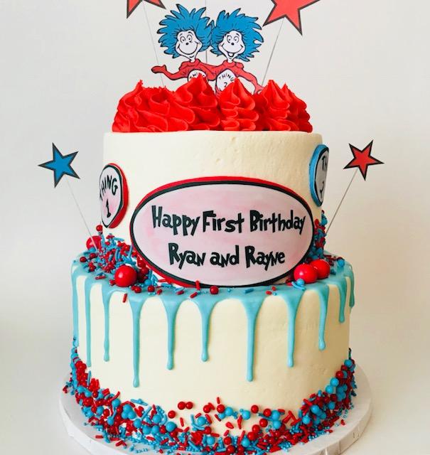 Magnificent Custom Cake The Sweet Side Funny Birthday Cards Online Necthendildamsfinfo
