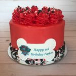 personalized cake, paw patrol, buttercream icing, kids birthday