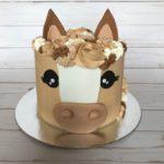horse cake, custom cake
