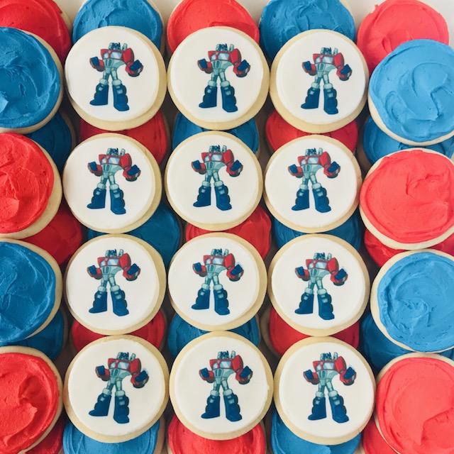 sugar cookies, edible images