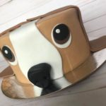 custom cake, dog cake, animal cake