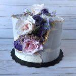 geode, geode cake, custom cake, buttercream icing