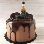 liquor cake, ganache, adult cake