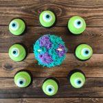 custom cupcakes, monsters inc, disney