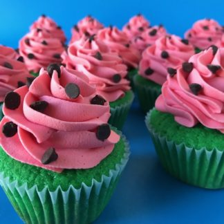 watermelon cupcakes, custom cupcakes