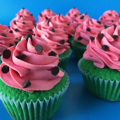 watermelon cupcakes, custom cupcakes
