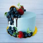 berry cake, custom cake