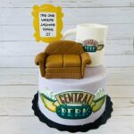 friends cake, custom cake