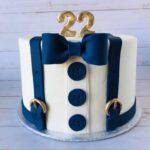 suit cake, fancy cake, custom cake